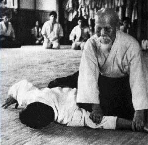 Ikkyo O Sensei Morihei Ueshiba