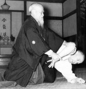 Suwariwaza Ikkyo O Sensei Morihei Ueshiba